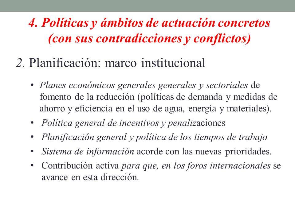 2. Planificación: marco institucional