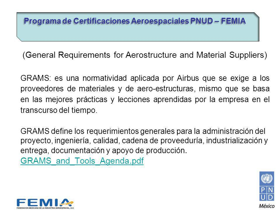 (General Requirements for Aerostructure and Material Suppliers)