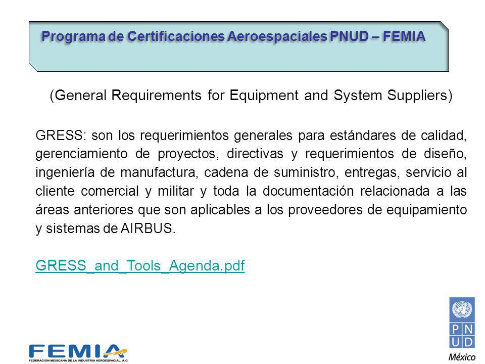(General Requirements for Equipment and System Suppliers)