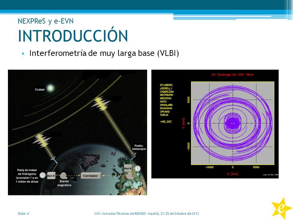 XXIV Jornadas Técnicas de REDIRIS – Madrid, 23-25 de Octubre de 2013