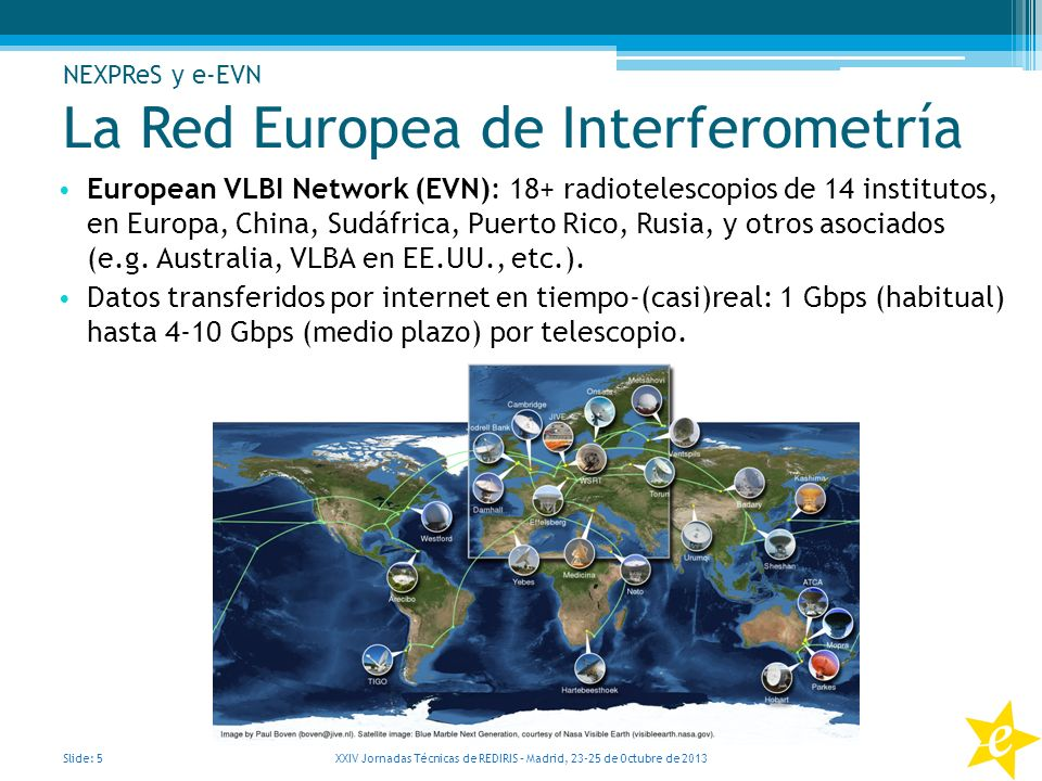 La Red Europea de Interferometría