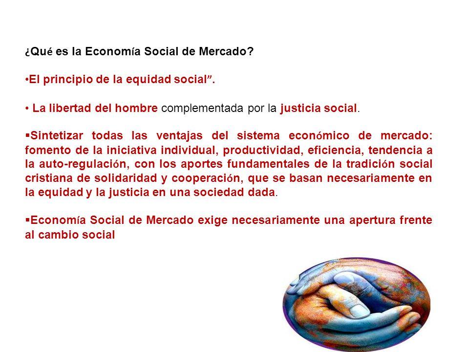¿Qué es la Economía Social de Mercado