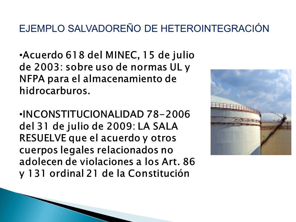 EJEMPLO SALVADOREÑO DE HETEROINTEGRACIÓN