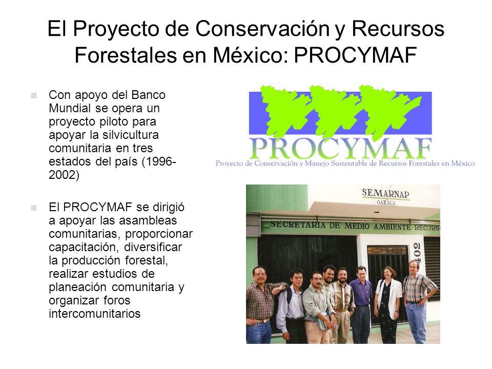 El Proyecto de Conservación y Recursos Forestales en México: PROCYMAF