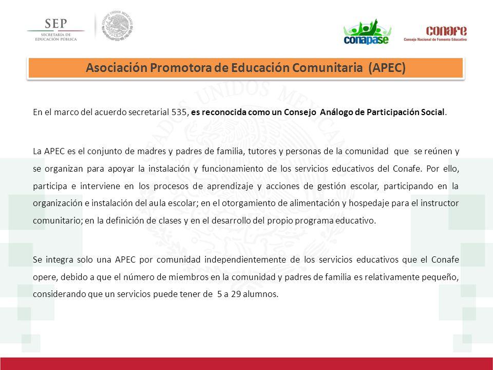 Asociación Promotora de Educación Comunitaria (APEC)