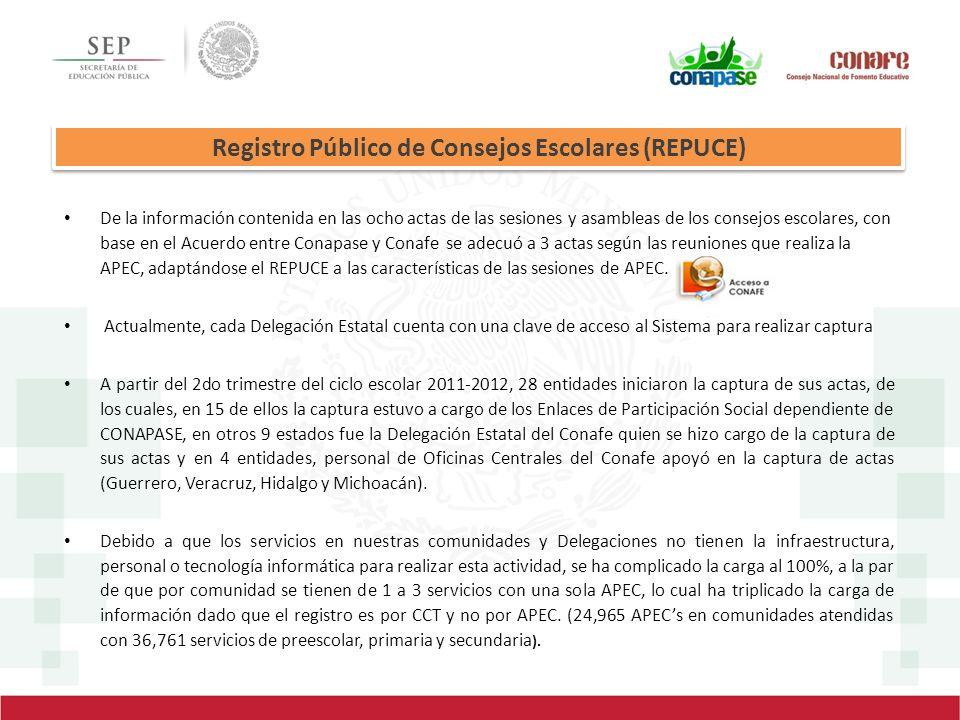 Registro Público de Consejos Escolares (REPUCE)