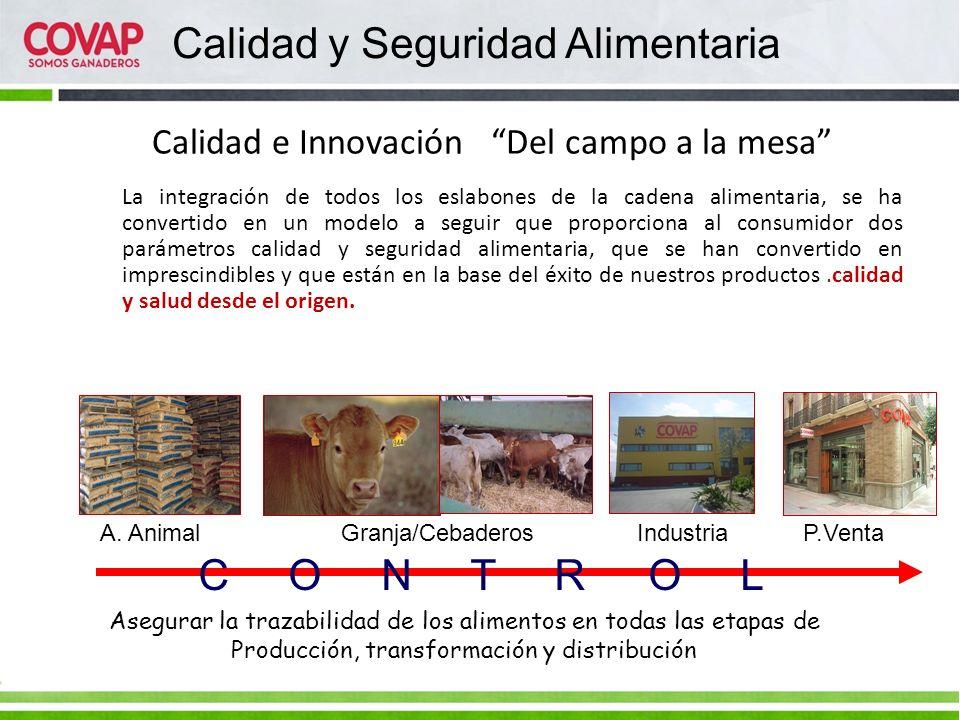 Calidad e Innovación Del campo a la mesa