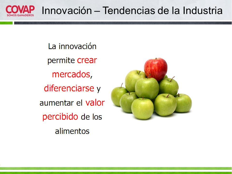 Innovación – Tendencias de la Industria