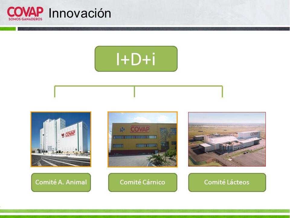 Innovación I+D+i Comité A. Animal Comité Cárnico Comité Lácteos