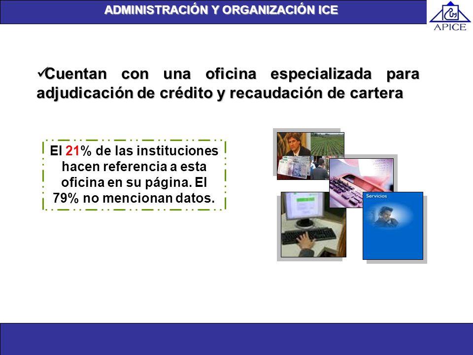 ADMINISTRACIÓN Y ORGANIZACIÓN ICE