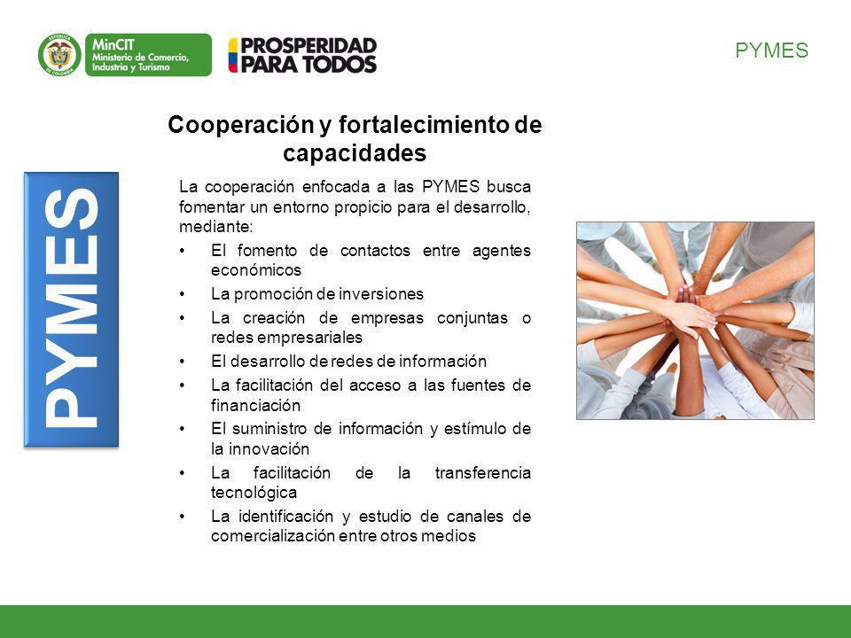 Cooperación y fortalecimiento de capacidades