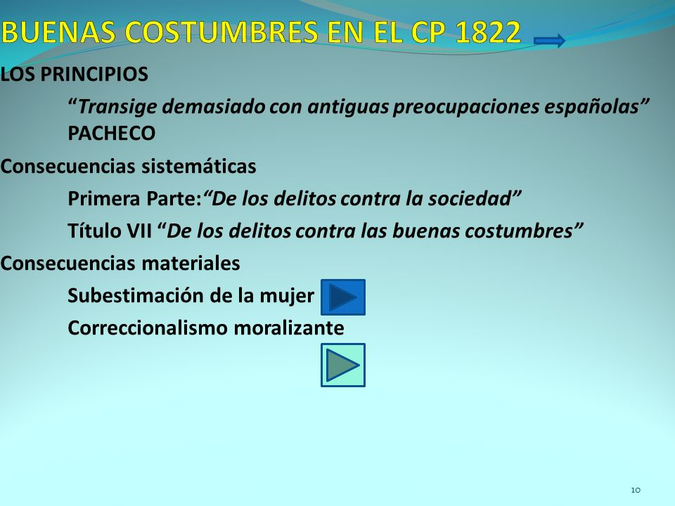 BUENAS COSTUMBRES EN EL CP 1822