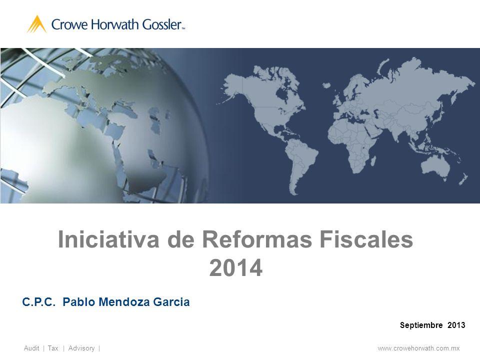 Iniciativa de Reformas Fiscales 2014