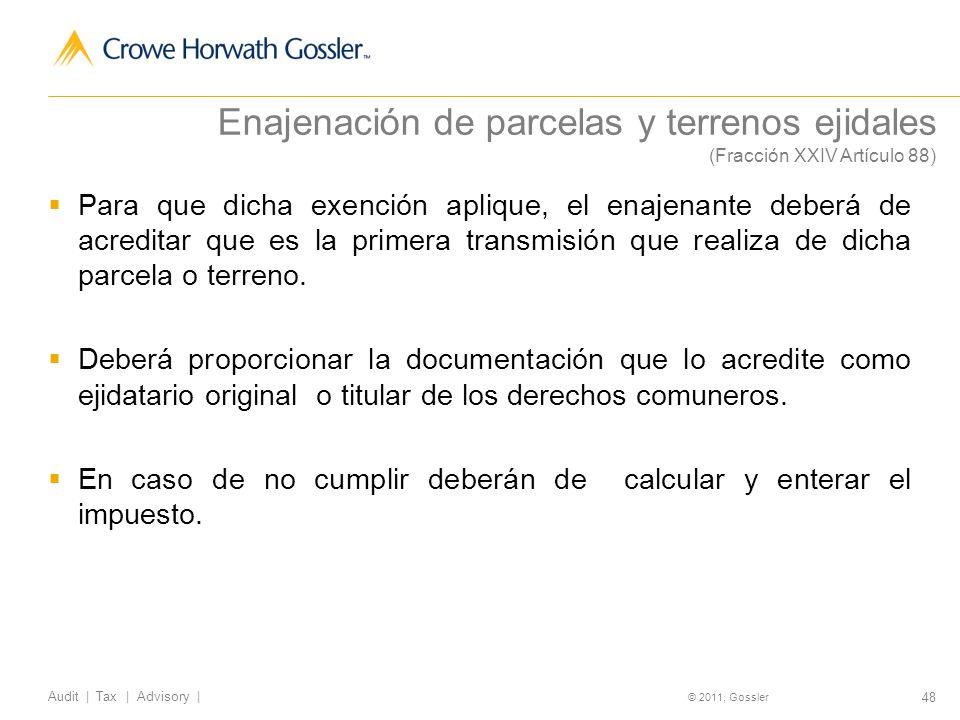 Enajenación de parcelas y terrenos ejidales (Fracción XXIV Artículo 88)