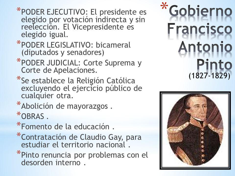 Gobierno Francisco Antonio Pinto