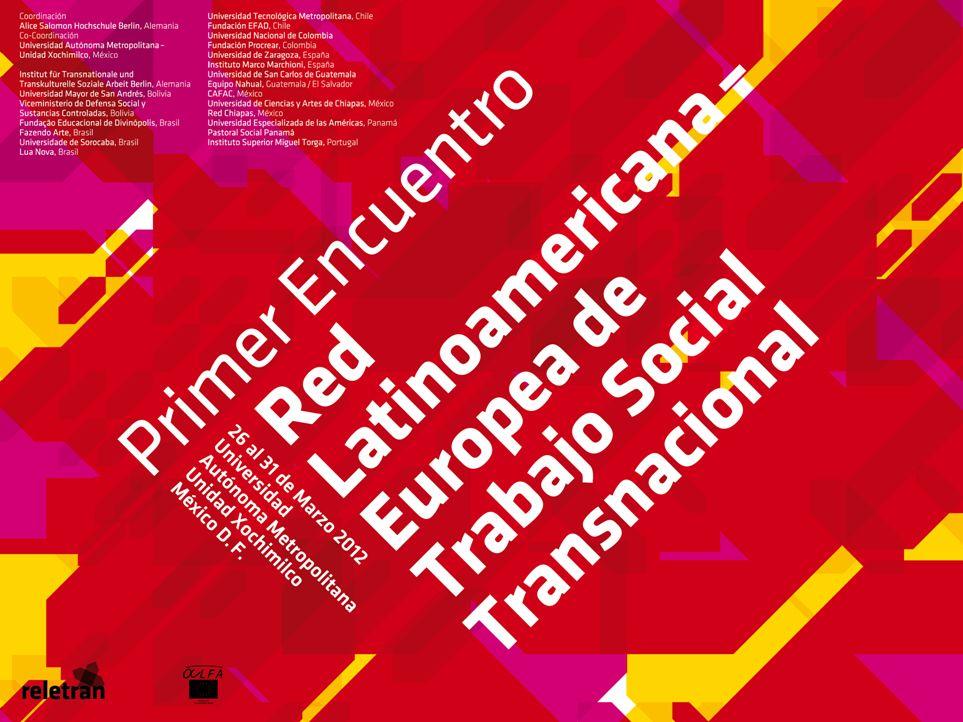 RELETRAN Red Latinoamericana – Europea de Trabajo Social Transnacional
