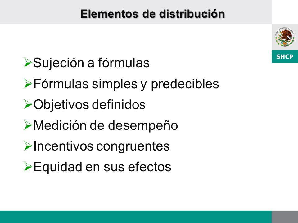 Elementos de distribución