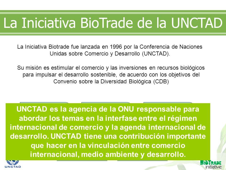 La Iniciativa BioTrade de la UNCTAD
