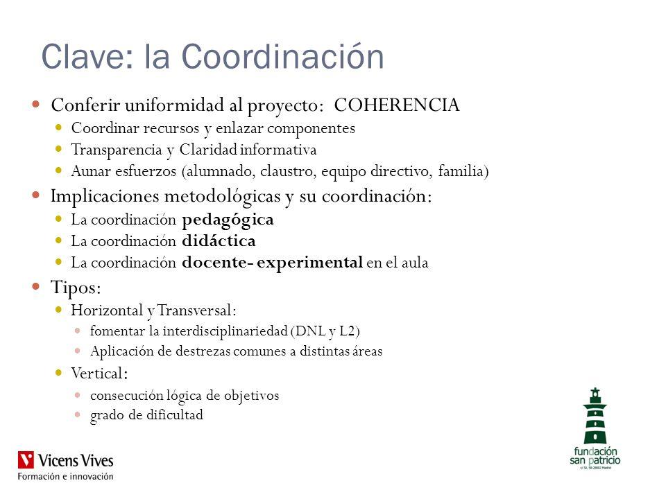Clave: la Coordinación