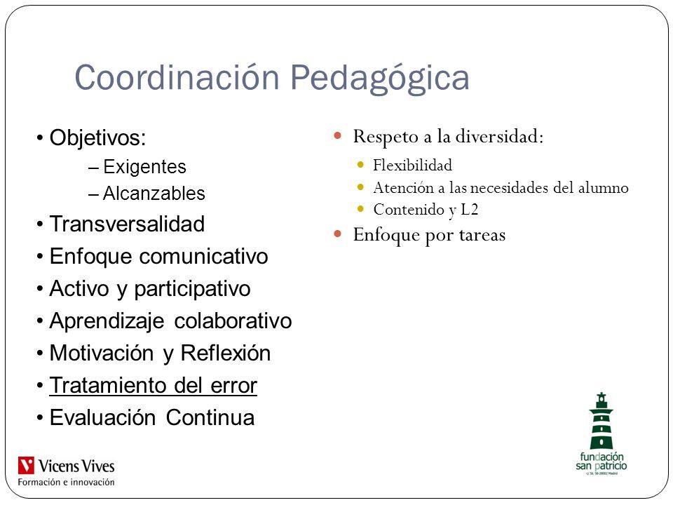 Coordinación Pedagógica