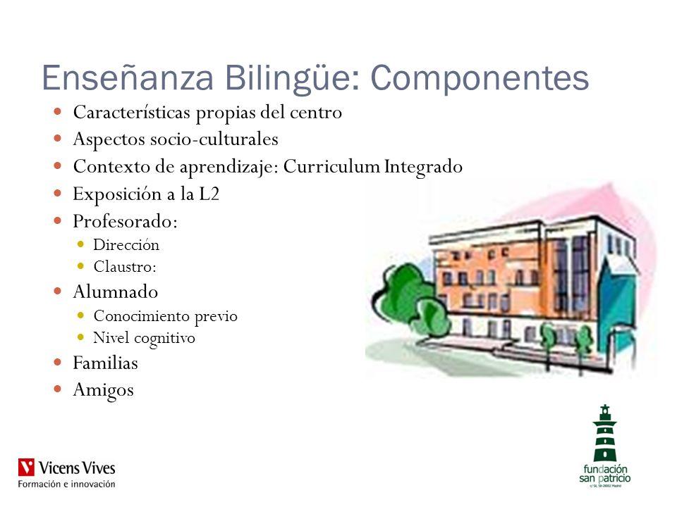 Enseñanza Bilingüe: Componentes