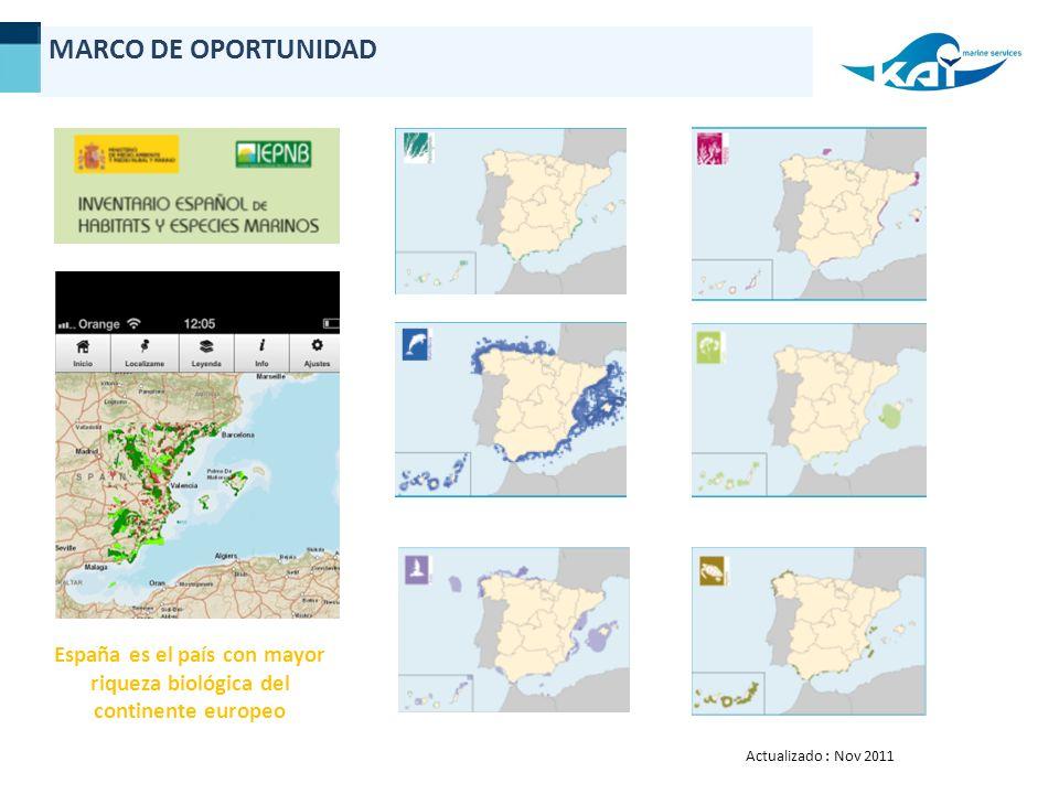 España es el país con mayor riqueza biológica del continente europeo