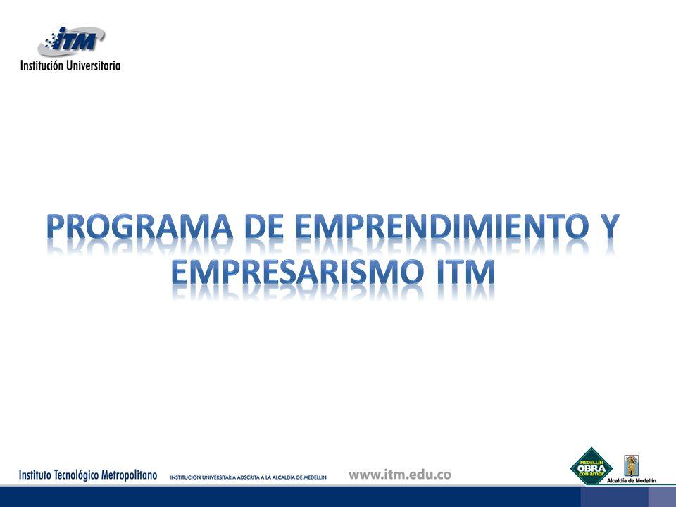 Programa de emprendimiento y empresarismo ITM