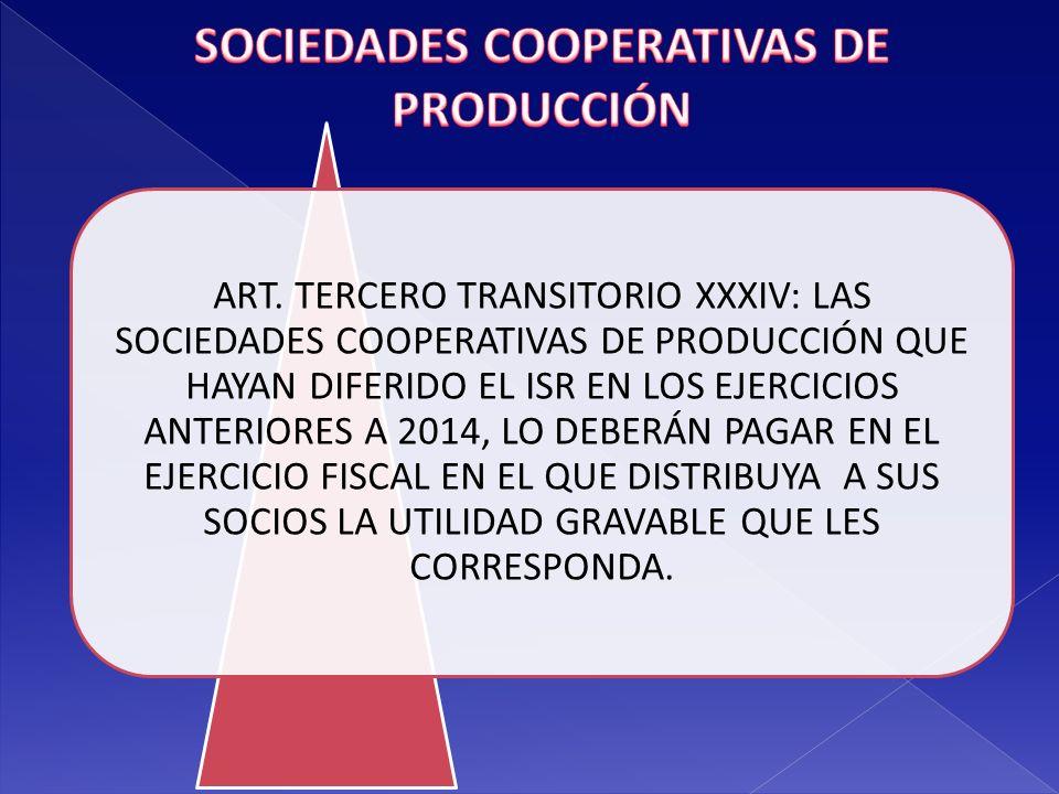 SOCIEDADES COOPERATIVAS DE PRODUCCIÓN