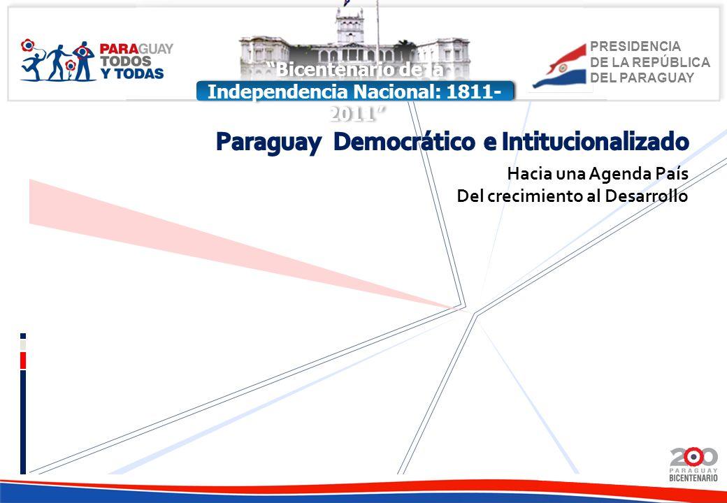 Paraguay Democrático e Intitucionalizado