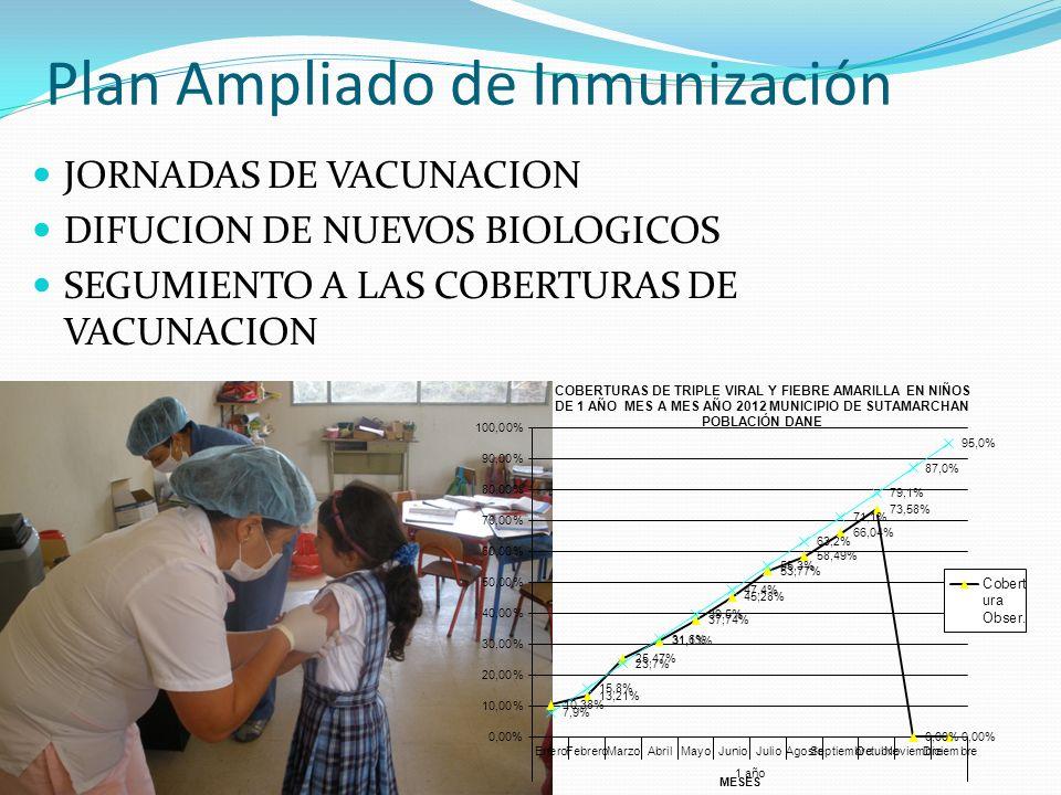 Plan Ampliado de Inmunización