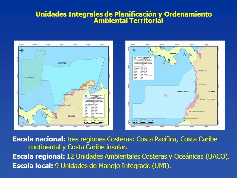 Unidades Integrales de Planificación y Ordenamiento Ambiental Territorial