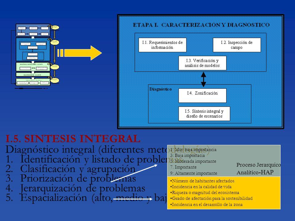 Diagnóstico integral (diferentes metodologías)