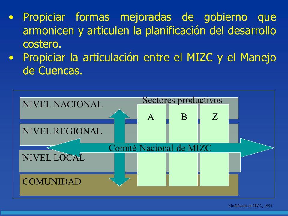 Comité Nacional de MIZC