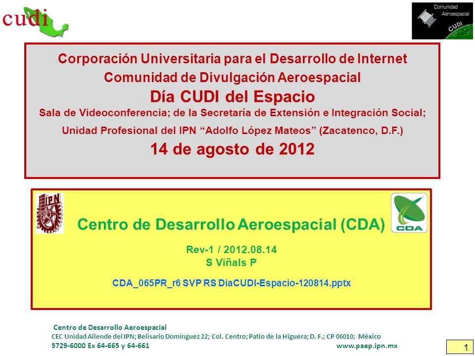 Centro de Desarrollo Aeroespacial (CDA)