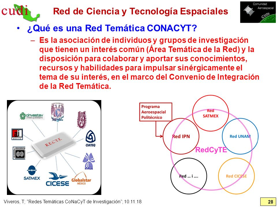 Red de Ciencia y Tecnología Espaciales