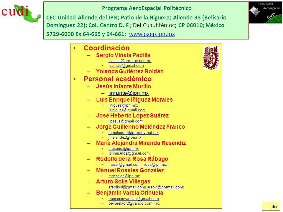 Programa AeroEspacial Politécnico