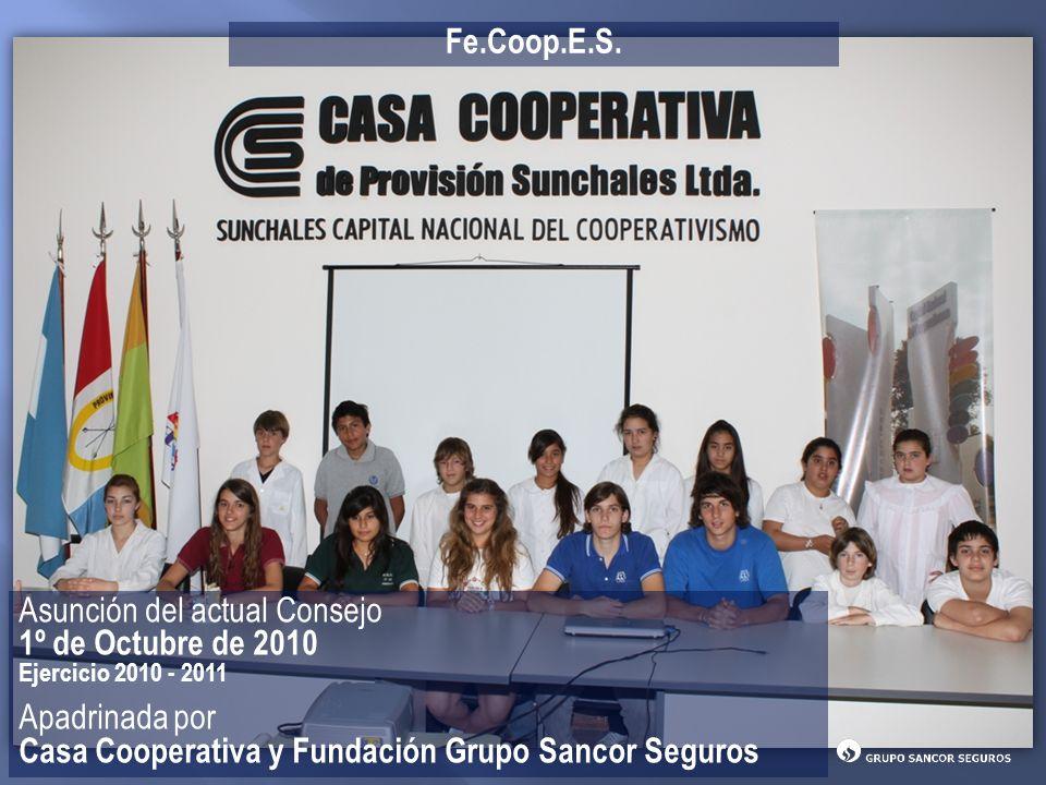 Asunción del actual Consejo 1º de Octubre de 2010 Apadrinada por