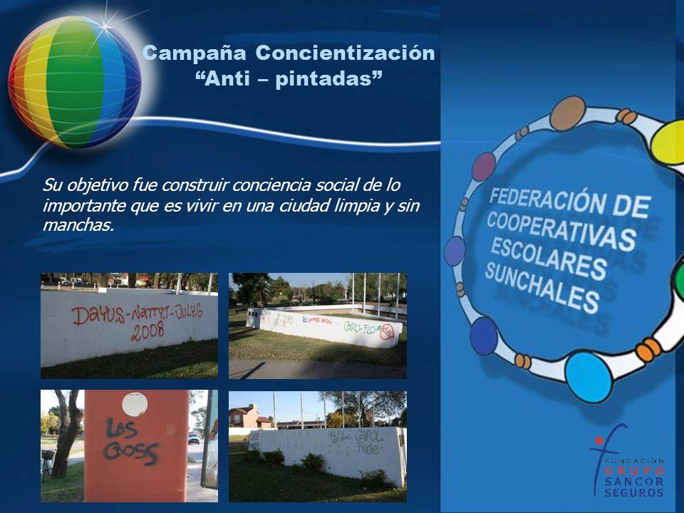 Campaña Concientización Anti – pintadas
