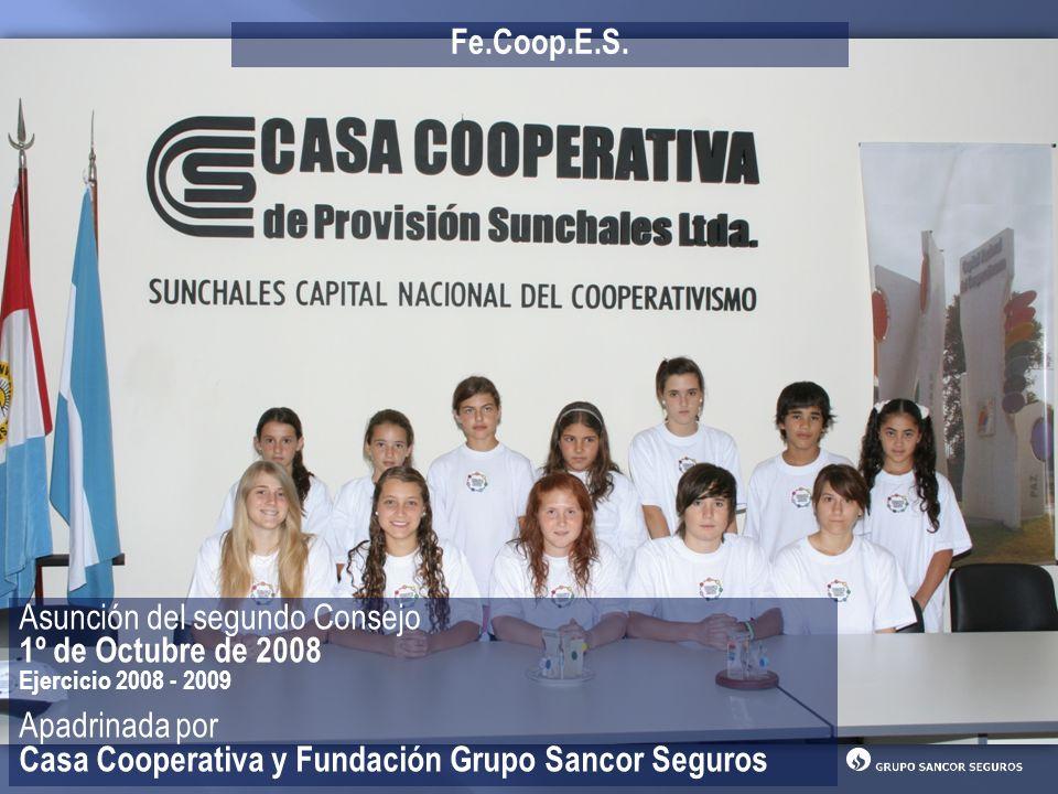 Asunción del segundo Consejo 1º de Octubre de 2008 Apadrinada por