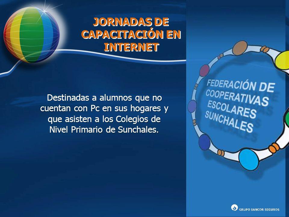 JORNADAS DE CAPACITACIÓN EN INTERNET