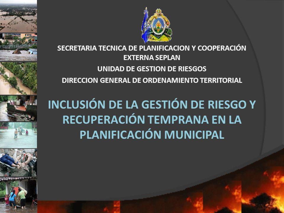 SECRETARIA TECNICA DE PLANIFICACION Y COOPERACIÓN EXTERNA SEPLAN