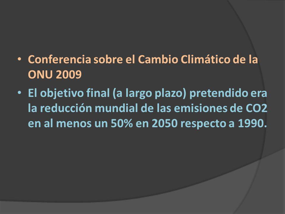 Conferencia sobre el Cambio Climático de la ONU 2009