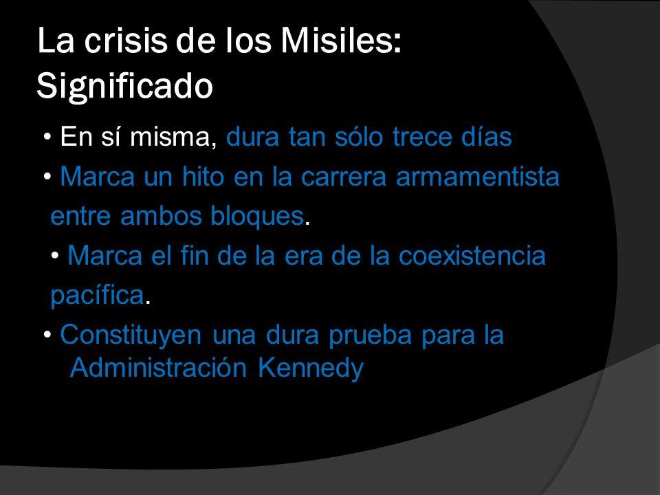 La crisis de los Misiles: Significado