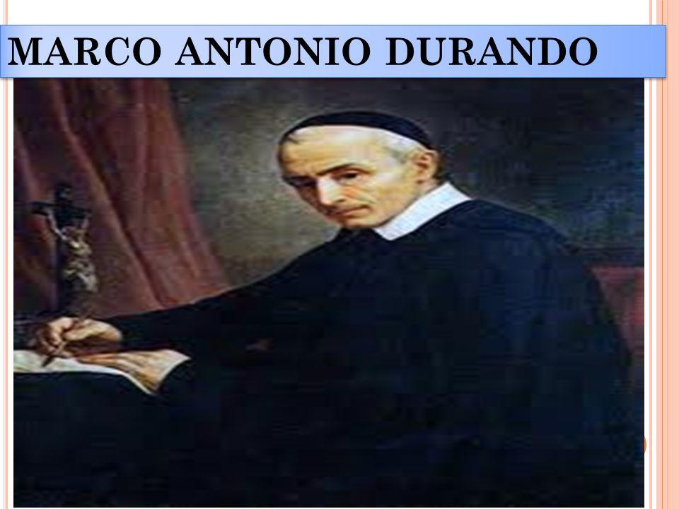 MARCO ANTONIO DURANDO