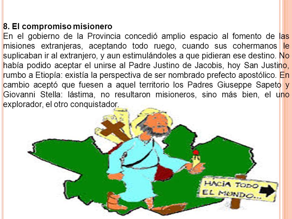 8. El compromiso misionero