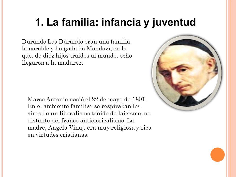 1. La familia: infancia y juventud