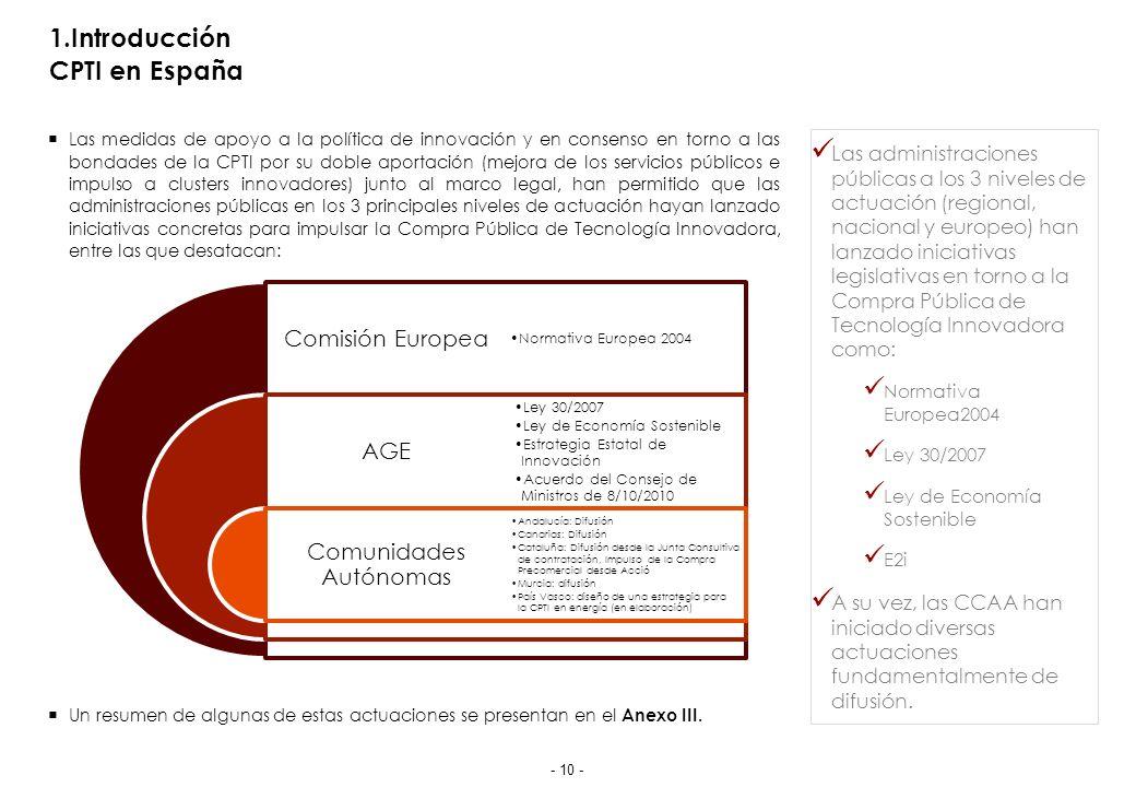 2.Compra Pública de Tecnología Innovadora El marco legal