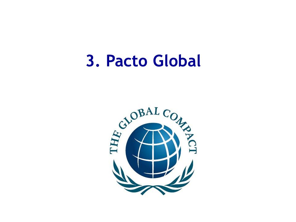 3. Pacto Global