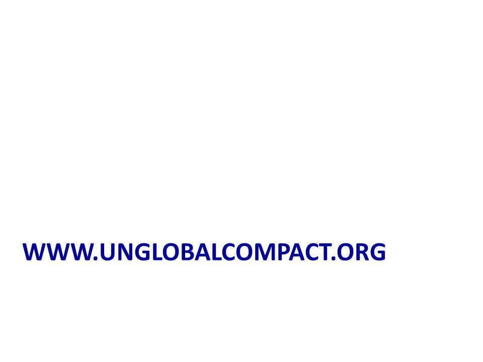 www.unglobalcompact.org
