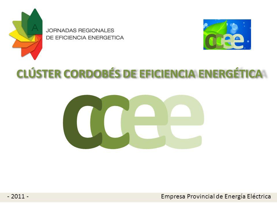 e c e c CLÚSTER CORDOBÉS DE EFICIENCIA ENERGÉTICA